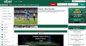 SLbet-homepage